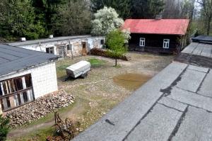 Warsztaty, Wnętrza gospodarcze z rekwizytami na wsi, w Wilczorudzie