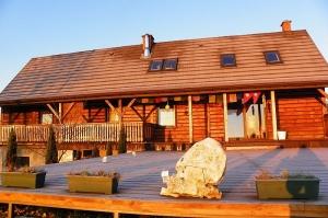 Drewniany dom na Jurze - obiekt zdjęciowy