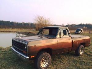 Dodge d150 unikat '83 rok!