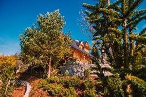 Góralski dom na wsi