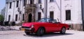 Atrakcyjny Fiat 124 Spider, wynajem do sesji reklamowych, filmu, na plan zdjęciowy