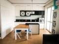 Piękne i nowoczesne mieszkanie do filmu, reklamy, teledysku.