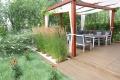 minimalistyczny dom projektantki z pięknym tarasem